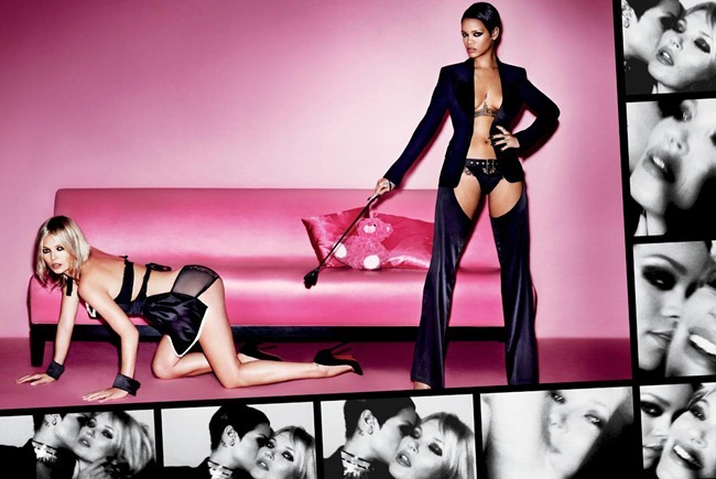 V MAGAZINE- Kate Moss & Rihanna by Mario Testino. Spring 2013, www.imageamplified.com, Image Amplified (3)
