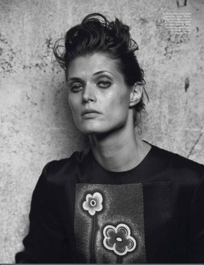 VOGUE PARIS- Malgosia Bela in Reine D'un Monde by Peter Lindbergh. Emmanuelle Alt, March 2013, www.imageamplified.com, Image Amplified (1)