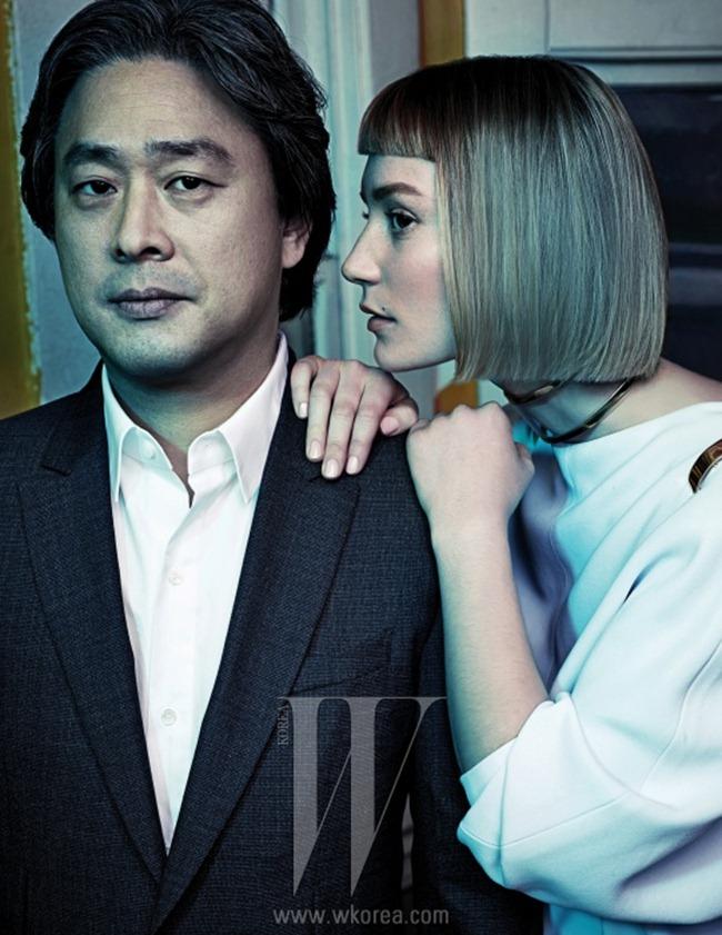 W KOREA- Mia Wasikowska & Park Chan Wook in Beautiful Monster by Hong Chang Hyun. March 2013, www.imageamplified.com, Image Amplified (2)