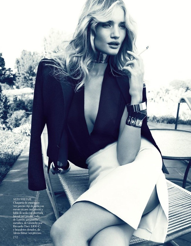 VOGUE SPAIN- Rosie Huntington-Whiteley in Rosie Enamora by Michelangelo Di Battista. Charles Varenne, March 2013, www.imageamplified.com, Image Amplified (2)