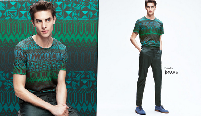 CAMPAIGN- Russell Giardana in Patterns IN Play for H&M Spring 2013. www.imageamplified.com, Image Amplified (6)