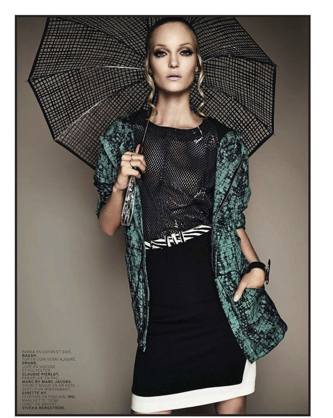 L'OFFICIEL PARIS- Theres Alexandersson in Pluie D'ete by Jonathan Segade. Alexandra Elbim, March 2013, www.imageamplified.com, image Amplified (2)