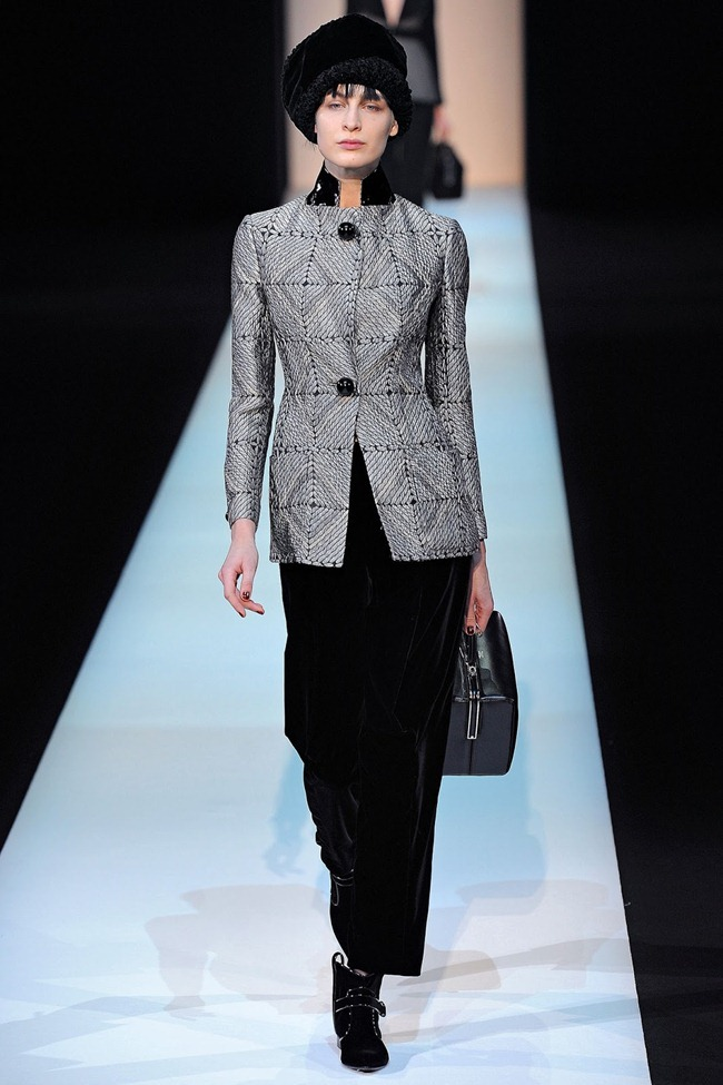 MILAN FASHION WEEK- Giorgio Armani Fall 2013. www.imageamplified.com, Image Amplified (2)