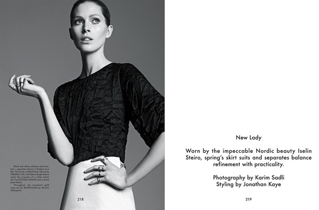 THE GENTLEWOMAN- Iselin Steiro in New Lady by Karim Sadli, Spring 2013, www.imageamplified.com, Image Amplified (4)