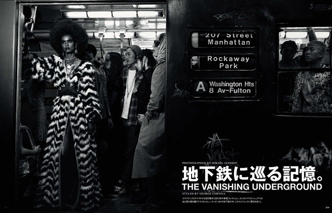 VOGUE JAPAN- Liya Kebede & DAvid Abbodji in The Vanishing Underground by Mikael Jansson. George Cortina, April 2013, www.imageamplified.com, Image Amplified (4)