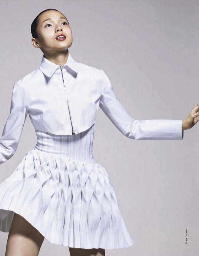 ELLE FRANCE- Xiao Wen Ju in Pop by Bjarne Jonasson. Michele Beaurenaut, February 2013, www.imageamplified.com, Image Amplified (8)