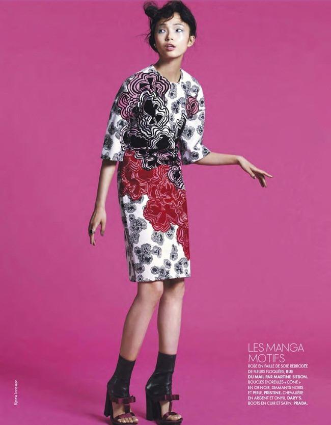 ELLE FRANCE- Xiao Wen Ju in Pop by Bjarne Jonasson. Michele Beaurenaut, February 2013, www.imageamplified.com, Image Amplified (12)