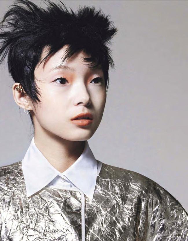 ELLE FRANCE- Xiao Wen Ju in Pop by Bjarne Jonasson. Michele Beaurenaut, February 2013, www.imageamplified.com, Image Amplified (14)