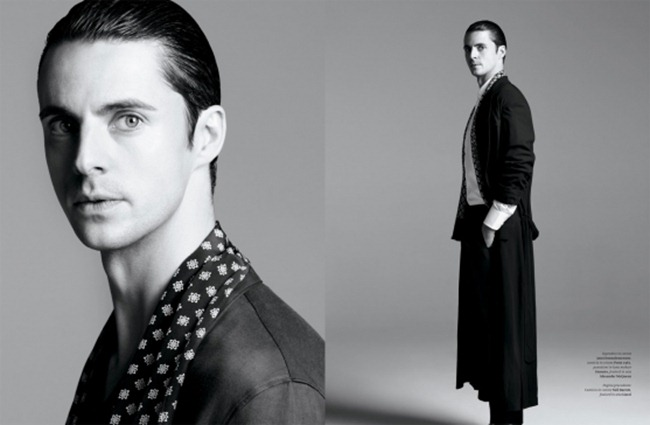 L'OFFICIEL HOMMES ITALIA- Matthew Goode by Johan Sandberg. Emil Rebek, Spring 2013, www.imageamplified.com, Image Amplified (3)