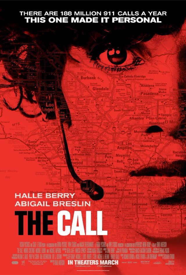 CINEMA SCAPE: The Call Starring Halle Berry & Abigail Breslin. In Theaters March 15, 2013