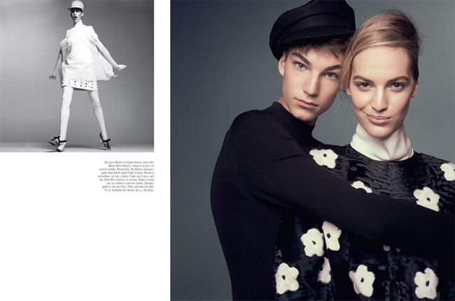 VOGUE ITALIA- Vanessa Axente & Gustav Swedberg in Moda by Steven Meisel. Marie-Amelie Sauve, March 2013, www.imageamplified.com, Image Amplified (2)