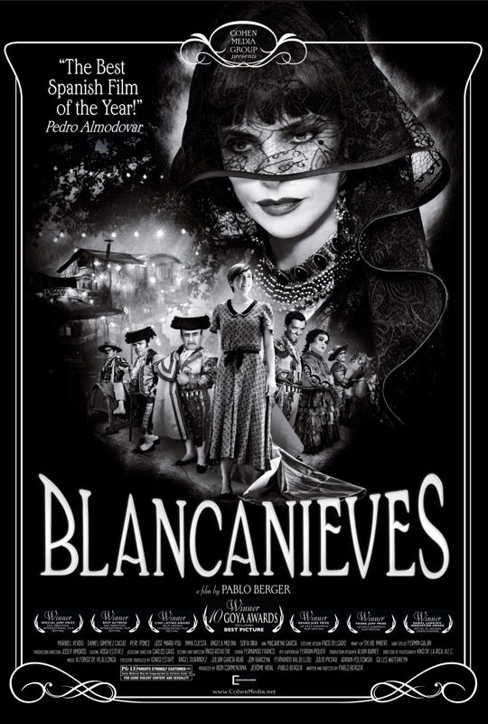 CINEMA SCAPE: Blancanieves Starring Maribel Verdu. In Theaters Now