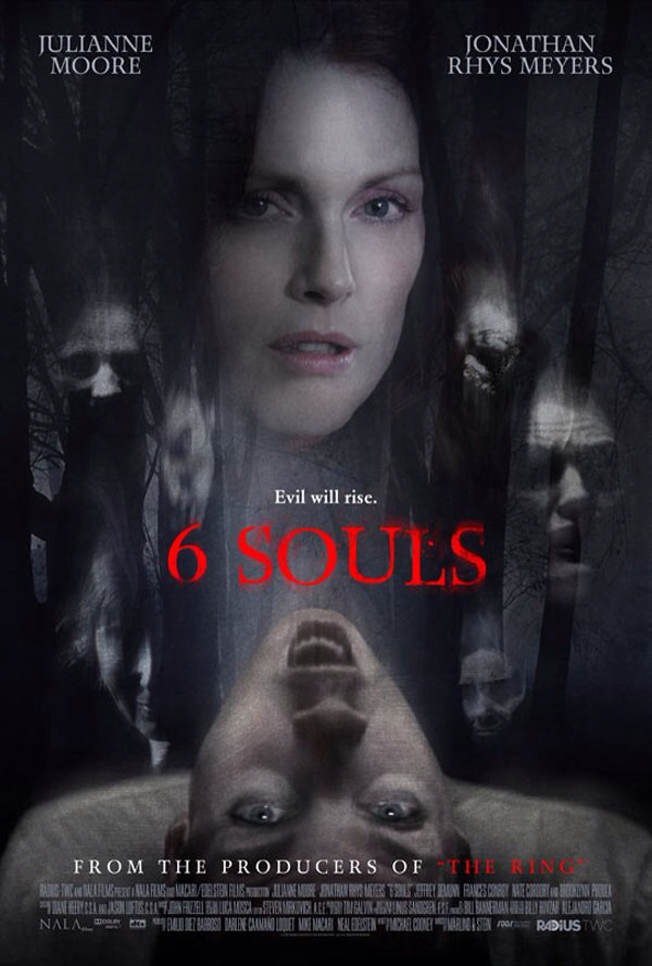 CINEMA SCAPE: 6 Souls Starring Julianne Moore & Jonathan Rhys Meyers. In Theaters April 5, 2013