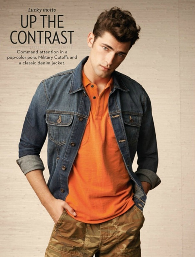 CAMPAIGN- Sean O'Pry for Lucky Brand Spring 2013. www.imageamplified.com, Image Amplified (5)