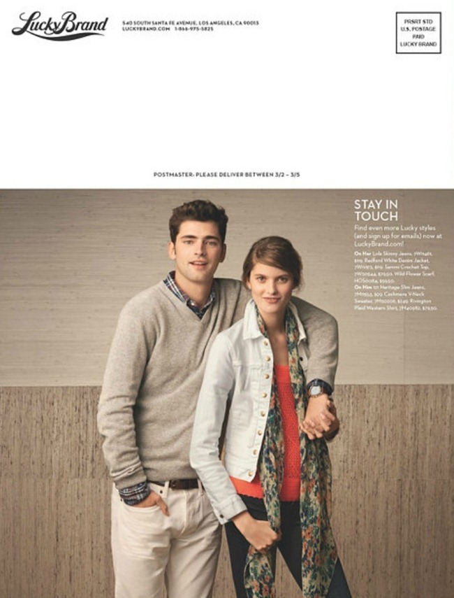 CAMPAIGN- Sean O'Pry for Lucky Brand Spring 2013. www.imageamplified.com, Image Amplified (8)