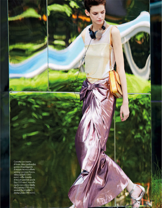 ELLE ITALIA- Jessica Pitti in Istituto Luce by Michael Sanders. Micaela Sessa, April 2013, www.imageamplified.com, Image Amplified (1)
