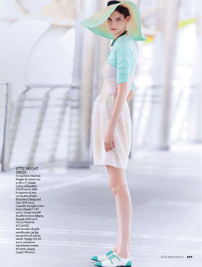 ELLE ITALIA- Jessica Pitti in Istituto Luce by Michael Sanders. Micaela Sessa, April 2013, www.imageamplified.com, Image Amplified (5)