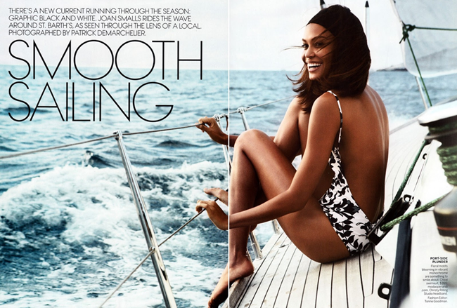 VOGUE MAGAZINE- Joan Smalls in Smooth Sailing by Patrick Demarchelier. Tonne Goodman, April 2013, www.imageamplified.com, Image Amplified (11)