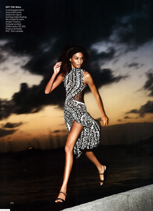VOGUE MAGAZINE- Joan Smalls in Smooth Sailing by Patrick Demarchelier. Tonne Goodman, April 2013, www.imageamplified.com, Image Amplified (1)