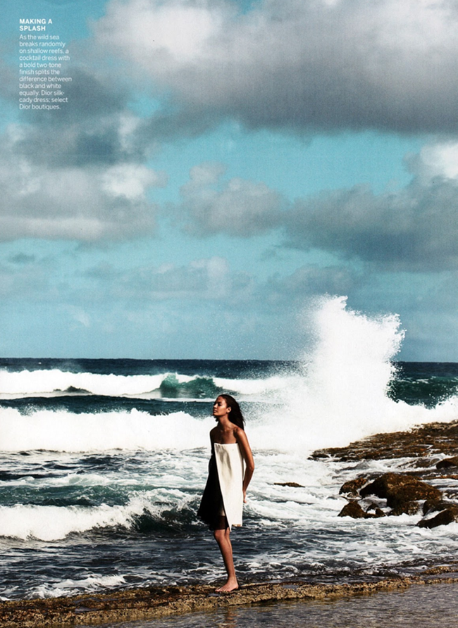 VOGUE MAGAZINE- Joan Smalls in Smooth Sailing by Patrick Demarchelier. Tonne Goodman, April 2013, www.imageamplified.com, Image Amplified (5)