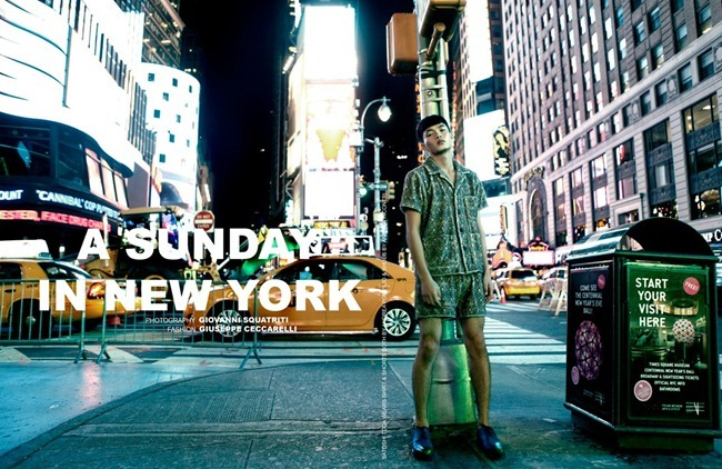 HOMME STYLE MAGAZINE- Paul Boche, Satoshi Toda & Philip Muscato in A Sunday in New York by Giovanni Squatriti. Giuseppe Ceccarelli, www.imageamplified.com, Image Amplified (8)
