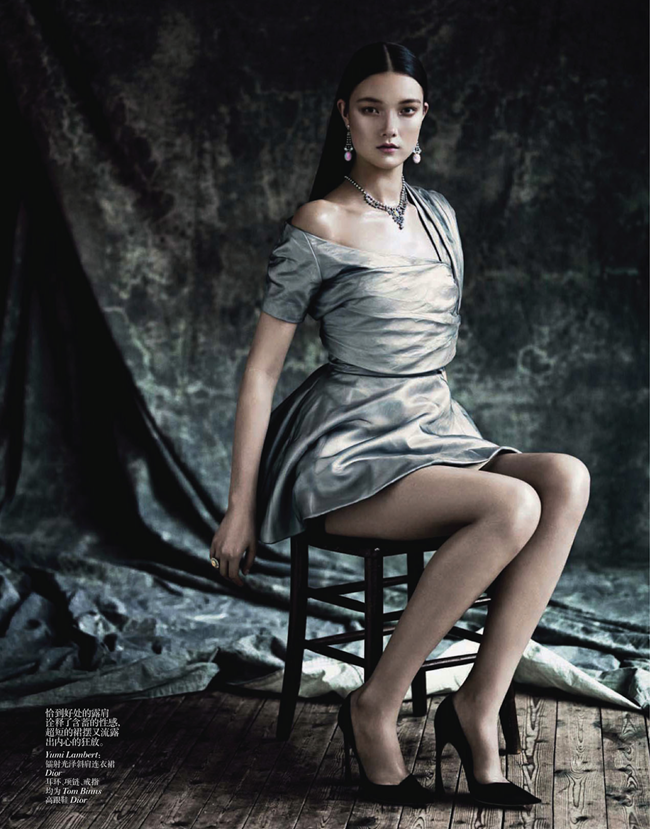 VOGUE CHINA- Saskia de Brauw, Stella Tennant, Kati Nescher & Yumi Lambert in The Charm of Diversity by Paolo Roversi. Nicoletta Santoro, April 2013, www.imageamplified.com, Image Amplified (9)
