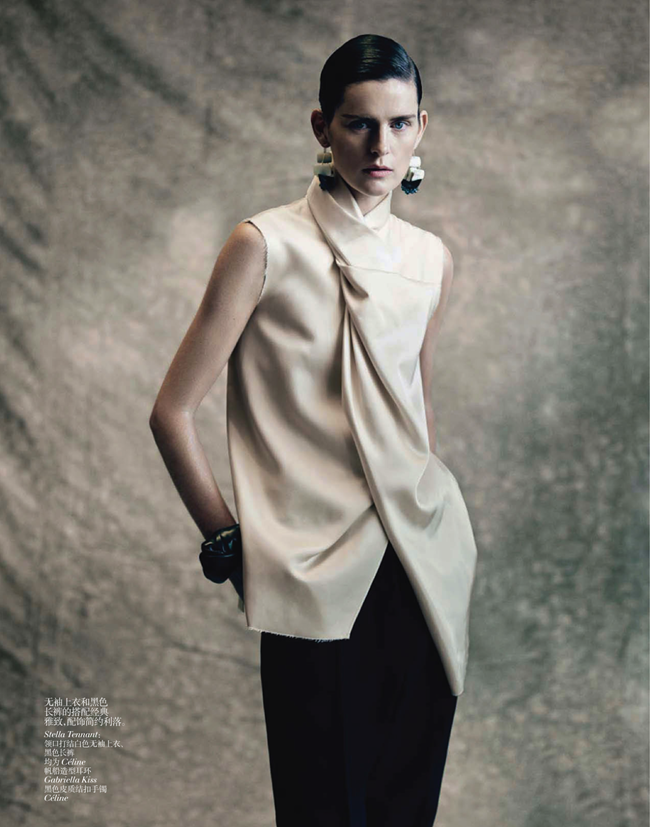 VOGUE CHINA- Saskia de Brauw, Stella Tennant, Kati Nescher & Yumi Lambert in The Charm of Diversity by Paolo Roversi. Nicoletta Santoro, April 2013, www.imageamplified.com, Image Amplified (7)