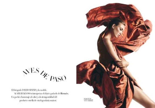 HARPER'S BAZAAR SPAIN- Karlie Kloss in Aves de Paso by David Sims. April 2013, www.imageamplified.com, Image Amplified
