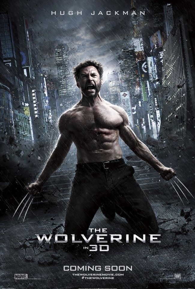 CINEMA SCAPE: Th Wolverine by James Mangold Starring Hugh Jackman. In Theaters July 26, 2013