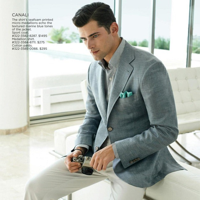 CAMPAIGN- Sean O'Pry for Saks Fifth Avenue Spring 2013 by Anne Menke. Anthony Unwin, www.imageamplified.com, Image Amplified (11)