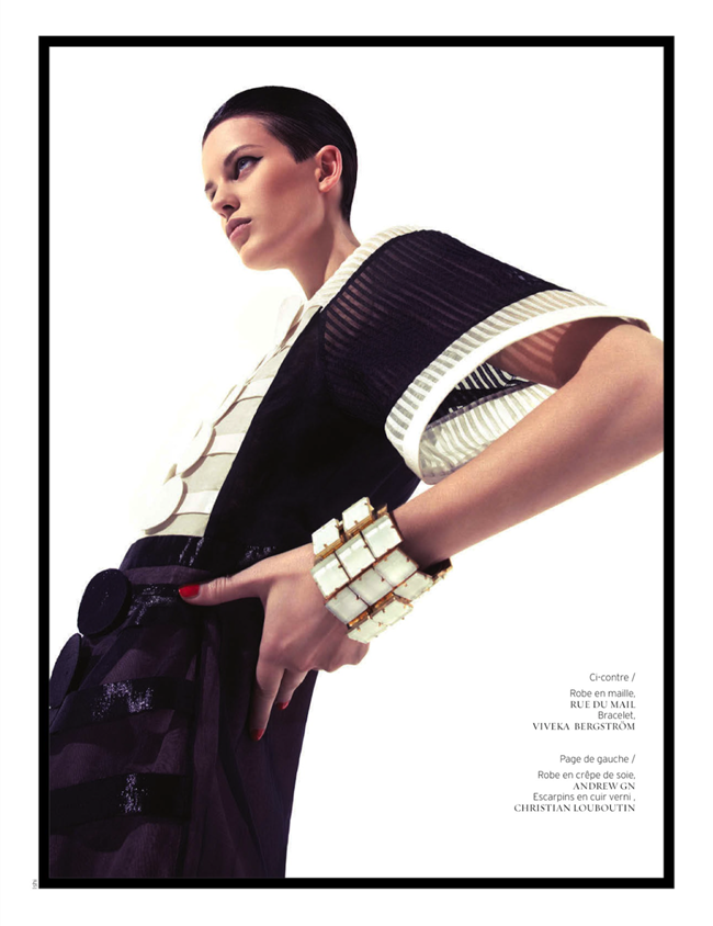 FRENCH REVUE DE MODES- Ellinore Erichsen by Ishi. Mario Chambrette, Spring 2013, www.imageamplified.com, Image Amplified (1)