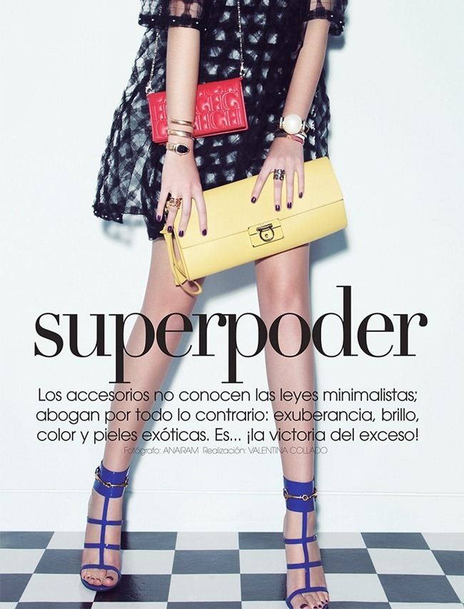 VOGUE MEXICO- Carina in Superpoder by Anairam. Valentina Collado, April 2013, www.imageamplified.com, Image Amplified