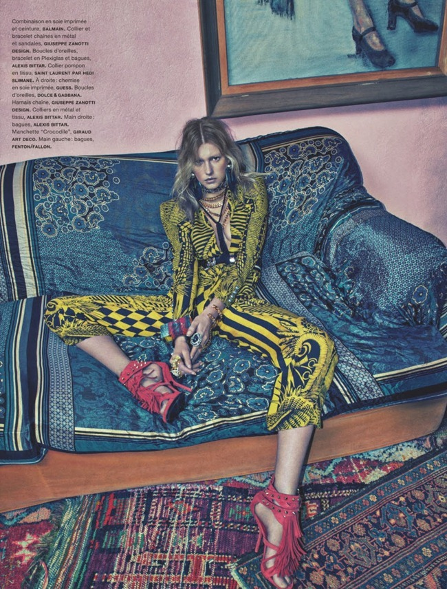 NUMERO MAGAZINE- Sigrid Agren in Patchwork by Sebastian Kim. Charles Varenne, April 2013, www.imageamplified.com, Image Amplified (4)