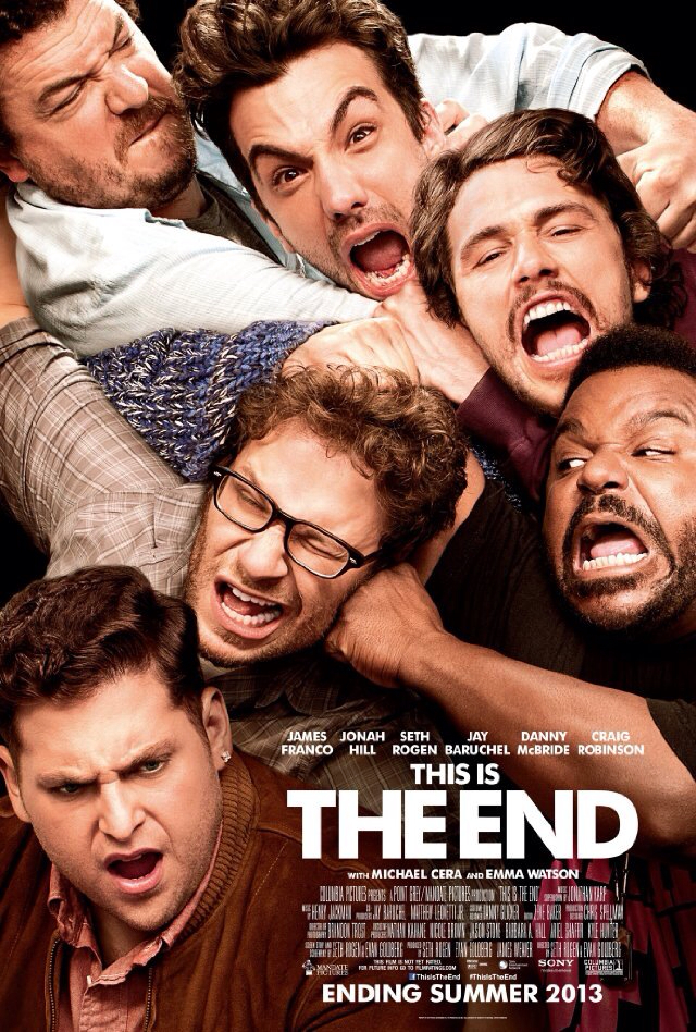 CINEMA SCAPE: This Is The End Starring Emma Watson, James Franco & Seth Rogen. In Theaters June 14, 2013