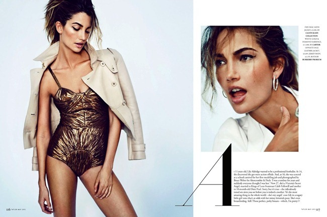 TATLER UK- Lily Aldridge in Red Hot Mama by Marc Hom. Deep Kailey, May 2013, www.imageamplified.com, Image Amplified (1)