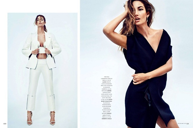 TATLER UK- Lily Aldridge in Red Hot Mama by Marc Hom. Deep Kailey, May 2013, www.imageamplified.com, Image Amplified (4)