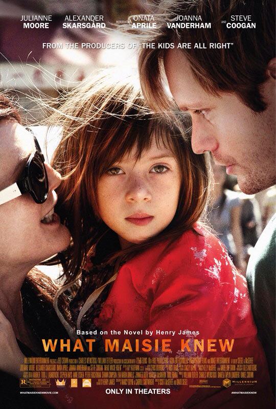 CINEMA SCAPE: What Maisie Knew by Scott McGehee & David Siegel Starring Julianne Moore & Alexander Skarsgård. In Theaters May 3, 2013