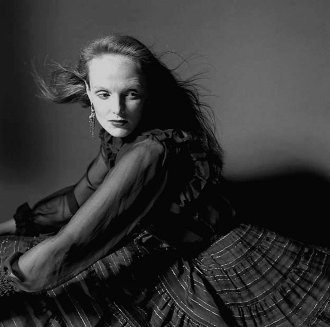 WE ♥ GRACE CODDINGTON- Vogue Grace Coddington, 1977 by Willie Christie. www.imageampilfied.com, Image Amplified