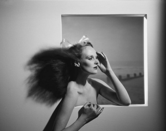 WE ♥ GRACE CODDINGTON- Grace in a Window by the Sea, 1974 by Willie Christie. www.imageampilfied.com, Image Amplified