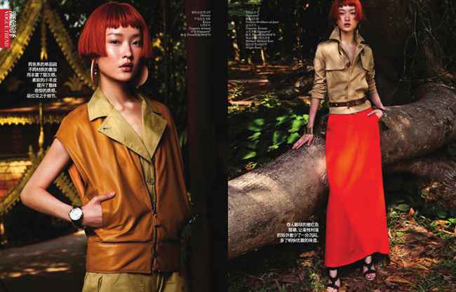 VOGUE CHINA- Du Juan in Elegant Safari by Li Qui. Candy Lee, May 2013, www.imageamplified.com, Image Amplified (3)