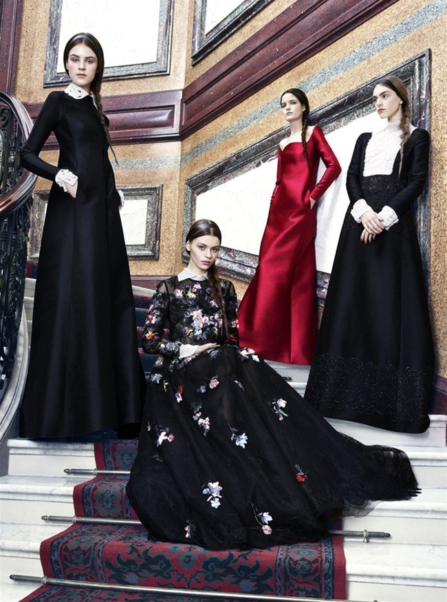 HARPER'S BAZAAR MAGAZINE- Valentino Fall 2013 Collection by Ben Weller. www.imageamplified.com, Image Amplified