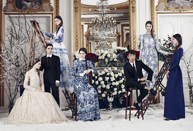 HARPER'S BAZAAR MAGAZINE- Valentino Fall 2013 Collection by Ben Weller. www.imageamplified.com, Image Amplified (1)