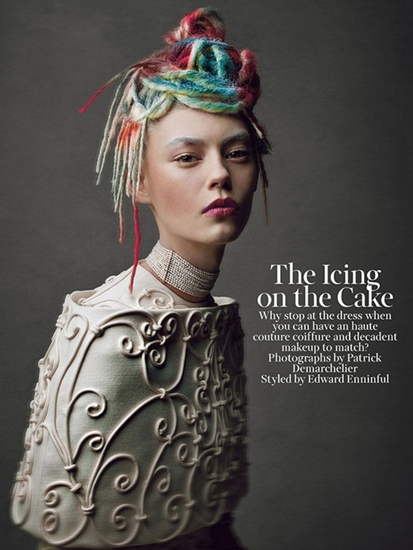 W MAGAZINE- The Icing on the Cake Patrick Demarchelier. Edward Enninful, May 2013, www.imageamplified.com, Image Amplified (1)