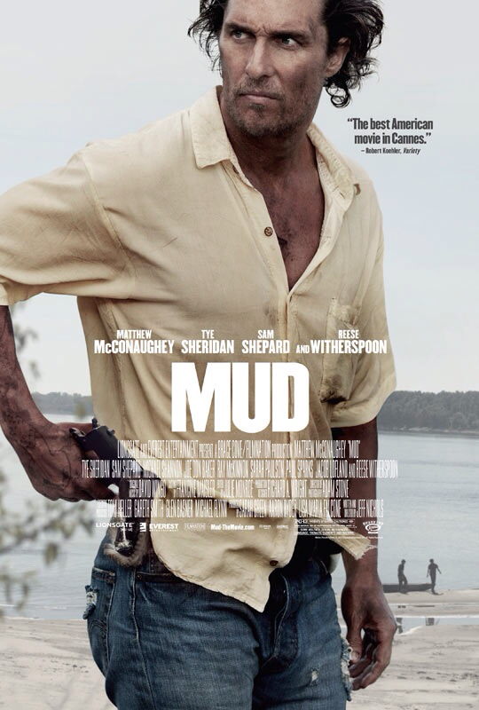 CINEMA SCAPE: MUD by Jeff Nichols Starring Matthew McConaughey & Reese Witherspoon. In Theaters April 26, 2013