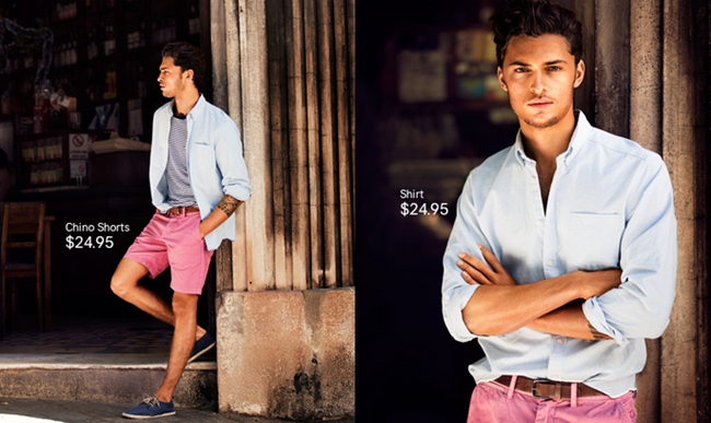 CAMPAIGN- Harvey Haydon & Maximiliano for H&M Spring 2013. www.imageamplified.com, Image Amplified (1)