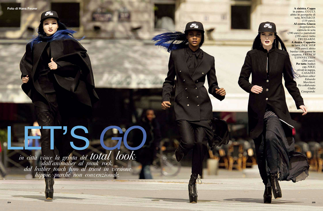 GLAMOUR ITALIA Let's Go by Hans Feurer. Edoardo Marchiori, October 2012, www.imageamplified.com, Image Amplified (1)