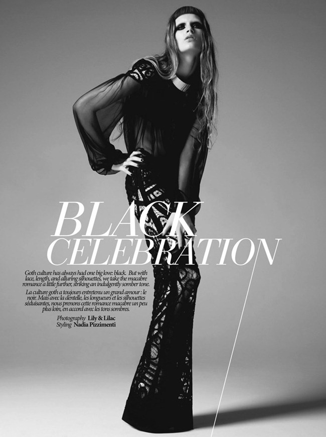 DRESS TO KILL MAGAZINE- Avalon in Black Celebration by Lily & Lilac. Nadia Pizzimenti, www.imageamplified.com, Image Amplified