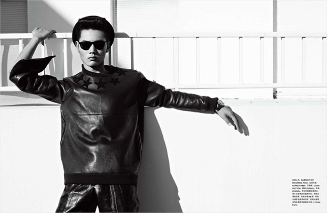NUMERO HOMME CHINA Hou Jinxiang by Tiziano Magni. Joseph Carle, www.imageamplified.com, Image Amplified (14)