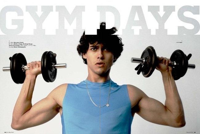 POSI TIVE MAGAZINE Nicklas Kingo, Rodrigo Braga & Tomas Fernandez in Gym Days by Giacomo Cosua. Giulia Meterangelis, www.imageamplified.com, Image Amplified (5)