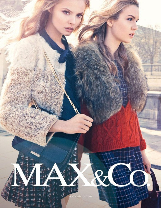 CAMPAIGN Magdalena Frackowiak & Josephine Skriver for Max & Co by Knoepfel & Indlekofer. Clare Richardson, www.imageamplified.com, Image Amplified (6)
